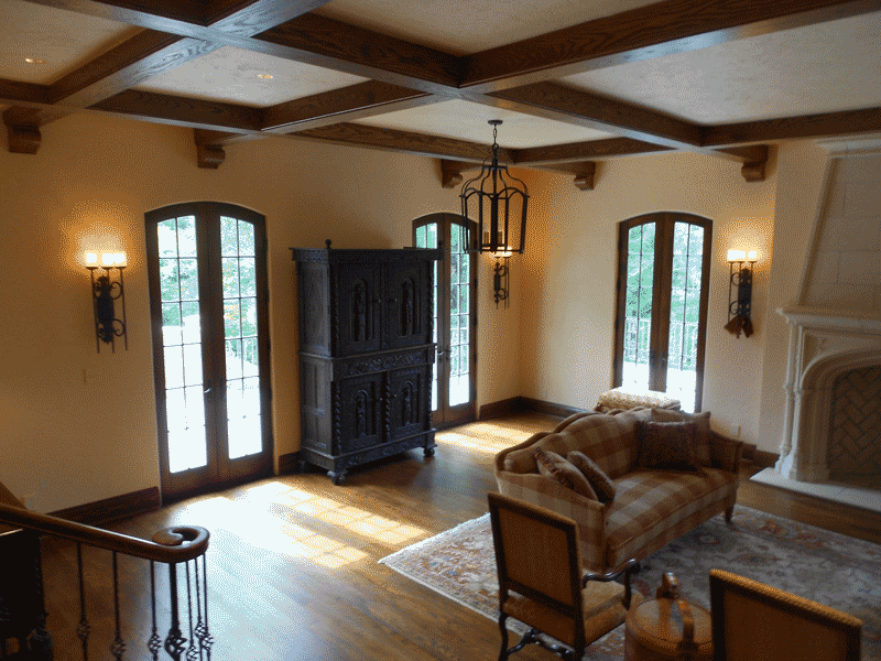 Greatroom - French doors to terrace.